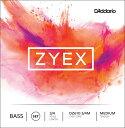 D'Addario ウッドベース弦 DZ610 3/4M Zyex Bass Strings / SET-MED (セット弦/ミディアム)【ダダリオ daddario コントラバス】
