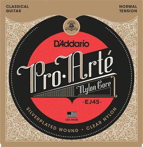 """D'Addarioダダリオクラシックギター弦EJ45""""Pro・ArteClassicalGuitar""""[daddarioEJ-45]"""
