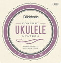 ショッピングconcert D'Addario ダダリオ ウクレレ弦 EJ88C Nyltech Ukulele Concert [daddario EJ-88C]【ゆうパケット対応】