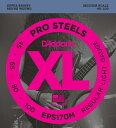 """D'Addario ダダリオ ベース弦 EPS170M """"XL ProSteels Round Wound"""" [daddario eps-170m]【ゆうパケット対応】"""