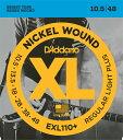 "D'Addario ダダリオ エレキギター弦 EXL110+ ""XL Nickel Round Wound"" [daddario エレキ弦 EXL-110+]【ゆうパケット対応】"