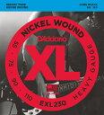 """D'Addario ダダリオ ベース弦 EXL230 """"XL Nickel Round Wound"""" [daddario exl-230]【ゆうパケット対応】"""