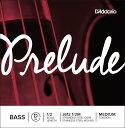 D'Addario ウッドベース弦 J612 1/2M Prelude Bass Strings / D-MED (バラ弦/ミディアム)【ダダリオ daddario コントラバス】【ゆうパケット対応】