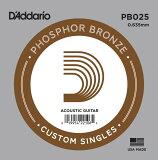 D'Addario ���������ƥ��å������� �Х鸹 5�ܥ��å� PB025 Phosphor Bronze��daddario �����ꥪ �������� pb-025�ۡڤ椦�ѥ��å��б���