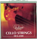 【今だけポイント5倍!2月26日9時59分まで】チェロ弦 Hallstatt HCS-2500 【ハルシュタット HCS2500】【ゆうパケット対応】