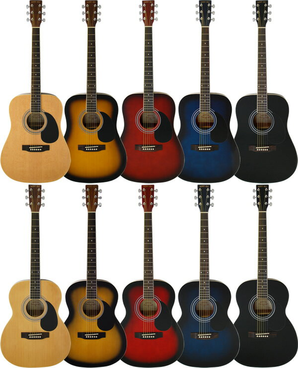 アコースティックギター HONEY BEE W-15/F-15 (本体のみ)【アコースティックギター ハニービー アコギ 初心者 W15 F15】【大型】