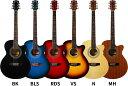 【欠品カラーは7月末頃】エレアコ Sepia Crue EAW-01(本体のみ)【アコースティックギター セピアクルー アコギ 初心者 EAW01】【大型】