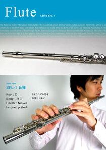 Soleil(ソレイユ)フルート初心者入門セットSFL-1[SFL1]