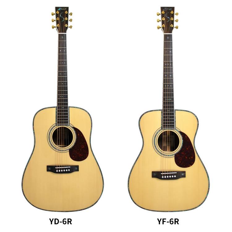 【YD6R欠品中:次回2017年】アコースティックギター S.Yairi YD-6R/YF-6R ナチュラル 単品【アコースティックギター ヤイリ YD6R YF6R トラディショナルシリーズ】【大型】