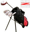 子供用ゴルフセット スタンドバッグ付きREDZONE(レッドゾーン) ジュニアゴルフセット