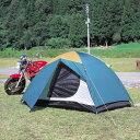 組み立て簡単!お手軽テント。ツーリングやドライブなどに!
