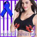 プレッシャーエキスパートブラ(PRESSURE EXPERT BRA フリーサイズ(70〜90cm) バスト 胸 補正下着 ブラ ブラジャー)