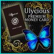 ユリシャス プレミアムマネーカード(Ulycious PREMIUM MONEY CARD 開運 カード 青い蝶 バタフライ マネーカード 金運)
