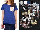 サクラスタイル15周年企画別注半袖Tシャツ「祝」 CHIGIRI チギリ レディース 和柄 和風 送料無料 猫【smtb-k】【kb】10P03Dec16【RCP】
