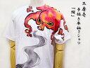 工房壱◆手書きTシャツ ティーシャツ「蛸」/和柄【smtb-k】【kb】10P21May14