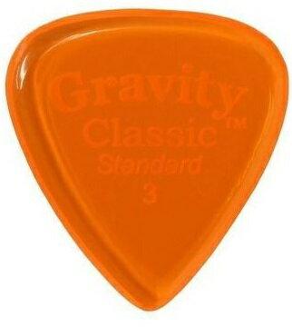 【メール便発送・全国送料無料・代金引換不可】GRAVITY GUITAR PICKS GCLS3P Classic -Standard- [3.0mm/Orange] アクリル ピック【smtb-TK】