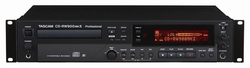 【スマホエントリーで全品ポイント10倍 12/1 9:59迄】【送料無料】タスカム TASCAM CD-RW900MKII 業務用 CDレコーダー/プレーヤー/CD-RW900MK2【smtb-TK】
