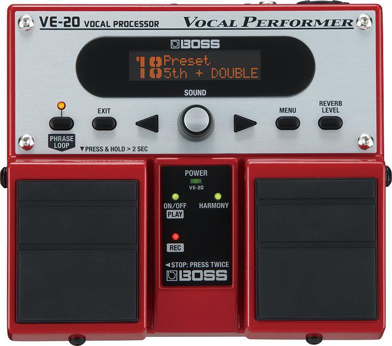 【ポイント6倍】【送料無料】ボス BOSS VE-20 ボーカルのサウンド・クオリティを上げるボーカル専用エフェクター【smtb-TK】
