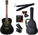 セピアクルー Sepia Crue FG-10/BK/初心者入門6点セット アコースティックギター ライトセット
