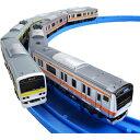 プラレールアドバンス E231系総武線&E233系中央線 ダブルセット鉄道玩具 電車 鉄道模