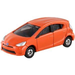 Tomica 098 浪費部分豐田 Aqua (吸塑) Tomica 車玩具車玩具男孩禮物生日禮物