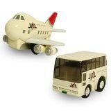 チョロQ JAL空港セット ジャンボジェット/ランプバス