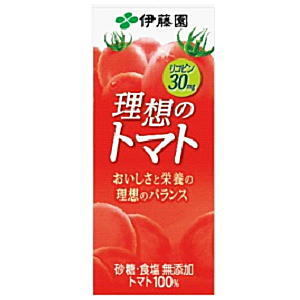 伊藤園理想のトマト200ml×24本入加糖コーヒーソフトドリンクHLS DU05P08Feb15