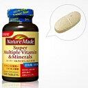 【特価品!!】【ネイチャーメイド】スーパーマルチビタミン&ミネラル 120粒マルチビタミン食品 ビタミン類 健康サプリ 健康