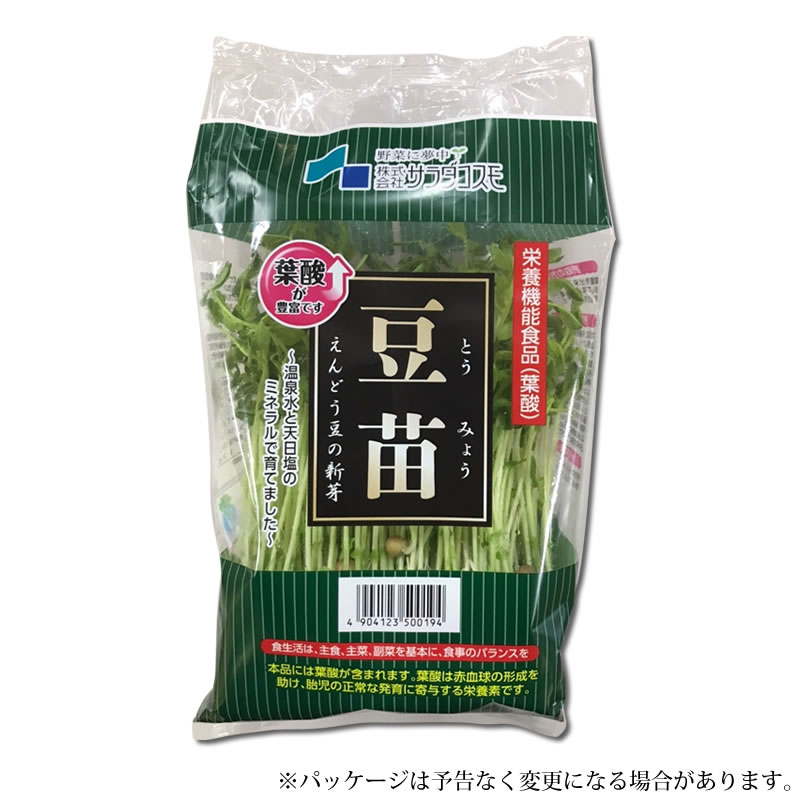 豆苗 えんどう豆の新芽(スプラウト)6パック入