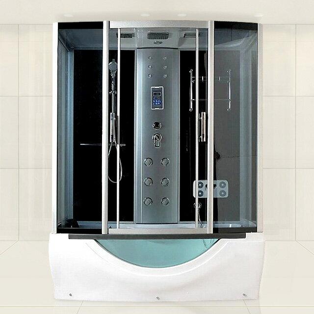■2年保証!組立出張サービス有!ショールーム商品展示 機能充実 ホテル/別荘/ログハウス/家庭用浴槽、ジェットバスタブ付きシャワーブース、シャワールーム、シャワーユニット7090-F■ ★ジェット浴槽★安くご家庭でも美しくて機能多様なシャワーブース!シャワーを浴びて、背中と足裏マッサージだけで気持ちよくリラックスできます!