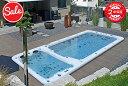 ■【セール中〜2週間限定!】プール・JACUZZI・POOL■ジェット・スパ:★抗菌塗装(三菱ケミカル)★電子制御システム(Balboaウォーターグループ) - 大型プール、家庭用・ホテル用大型浴槽・ジャグジー・●水泳可能・POOL-SP750