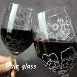 ブランド ミラフィオリ ペアワイングラス プレゼント
