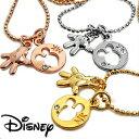 ディズニー ネックレス アクセサリー レディース ミッキー 生誕80周年記念 プチコイン ハンドネックレス 全3色 スワロフスキー Disney コラボ 限定 大人ディズニー 公式ライセンス商品