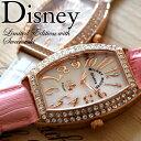 ディズニー 腕時計 ミッキー 腕時計 ミッキーマウス 腕時計 DISNEY レクタングル 腕時計 全3色 本牛革ベルト レザー スワロフスキー ミッキー ウォッチ グッズ MICKEY MOUSE 限定 レディース 女性用 LADYS キッズ ジュニア ブレスレット