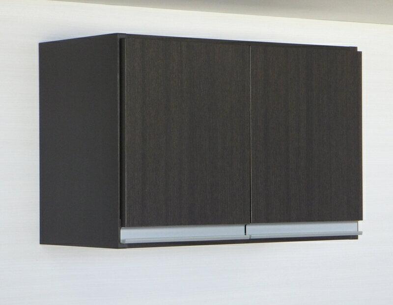プレミアム吊戸棚横型 幅60L(奥行30)国産 完成品 送料無料洗面所収納 トイレ収納に