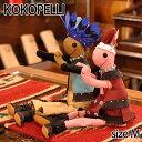 【Kokopelli】 ココペリ インディアン ガール チーフ Mサイズ ドール 人形 雑貨 インテリア ハンドメイド
