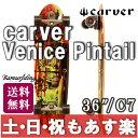 """【返品保証】carver SURFSKATE カーバー スケートボード 36"""" Venice Pintail Complete ヴェニス ピンテール C7 トラック 送料無料【あす楽】 02P03Dec16 0824楽天カード分割 1201_flash"""