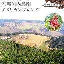 佐那河内農園 アメリカンブレンドコーヒー 500g 送料税込 ゆうパック(北海道・沖縄離島別途送料)