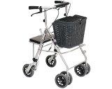 安心の4輪歩行車で、ショッピングや散歩にも使えるタイプです。[睦三] 四輪歩行車 カーレマン