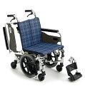 [ミキ] 介助用アルミ製6輪車いす スキット6 SKT-6