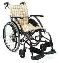 【法人宛送料無料】[カワムラサイクル] WAVIT ウェイビット WA22-40S WA22-42S 標準型 車椅子 自走式 折りたたみ 背張調整不要 ノーパ..
