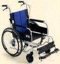 [ミキ] アルミフレーム自走用車いす BAL-1S (低座面+座面高モジュール ノーパンクタイヤ)(受注後生産品)