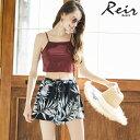 【Reir】Sopy Flowerデシン ショートパンツ M 水着 みずぎ ミズギ ショートパンツ レディース水着
