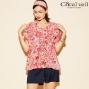 【SALE】【Coral veil】Paisley rug ...