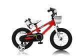 14インチ ROYAL BABY ロイヤルベビー 子供用自転車 カゴ付 RB-Freestyle14 レッド 31908