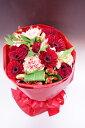 花瓶のいらない花束【Mサイズ】そのまま飾れるハッピーブーケ!!【ガーベラ】【05P05Sep15】