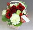 カラーで選ぶ季節のお花のSサイズバラ入りアレンジメント!【送料無料フラワー】♪ 10P03Sep16