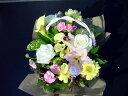 【光る薔薇】を使ったアレンジメント5000光るバラ