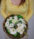 贈ってハッピー!!もらってハッピー!!箱から出してそのまま飾れるブーケ花瓶のいらない花束【Mサイズ】そのまま飾れるハッピーブーケ!!【レビューを見て他社との違い確認下さい】【送料無料】【smtb-MS】