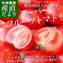 送料無料 茨城県産 NKKアグリドリーム スーパーフルーツトマト 9度+ A品 約4キ